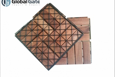 300 x 300 x 19 mm Acacia Wood Deck Tiles